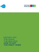 Client Education Flip Book - Good Fats 101
