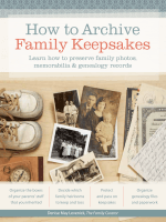 How to Archive Family Keepsakes - Amazon Web Services