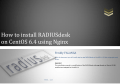 How to install RADIUSdesk on CentOS 6.4 using Nginx - SourceForge