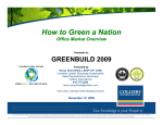 How to Green a Nation How to Green a Nation - Colliers International