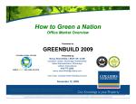 How to Green a Nation How to Green a Nation - Colliers International