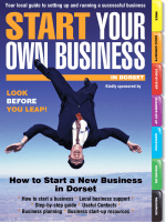 How to Start a New Business in Dorset - Start Your Own Business
