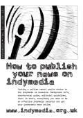How to publish your news on indymedia How to publish your news