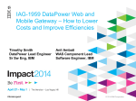 IAG-1959 DataPower Web and Mobile Gateway – How to - IBM