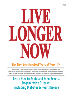 Learn How to Avoid and Even Reverse Degenerative Diseases