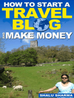 How To Start A Travel Blog And Make Money - Whitehall Publishing