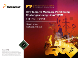 Multicore Expert Series: How to Solve Multicore Partitioning