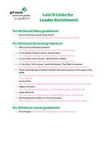 • How to Teach Daisies the Girl Scout Promise http://www.ehow.com