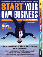How to Start a New Business in Somerset - Start Your Own Business