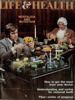 NOSTALGIA AND NUTRITION How to get the most from your doctor