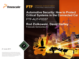 Automotive Security: How to Protect Driver Information in the