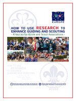 How to use research to enhance Guiding and Scouting - Europe