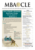 How to Handle a Residential Real Estate Closing