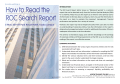 How to Read the ROC Search Report - Arrow Training