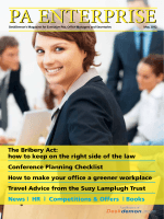 The Bribery Act: how to keep on the right side of the - DeskDemon