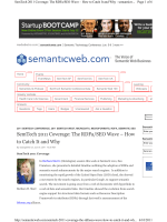 SemTech 2011 Coverage: The RDFa/SEO Wave – How to Catch It