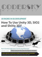 How To Use Unity 3D, SIO2 and ShiVa 3D? - FlexMappers