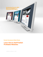 DomainDEVpro Learn How to Self-Publish Profitable - Contact