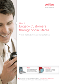 How to Engage Customers through Social Media | Avaya
