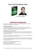 How to Get Free Website Traffic - Affref.com