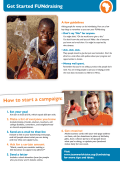 How to start a campaign: - World Vision