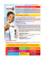 WHAT IS COASTAL KZN FET COLLEGE? PROGRAMMES