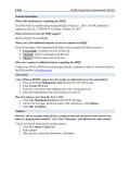 FAQs Health Organization Questionnaire (HOQ) General Information