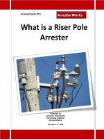 What is a Riser Pole Arrester - ArresterWorks.com