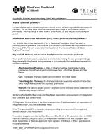 2014 BCBS Illinois Prescription Drug Plan Preferred - MyPrime
