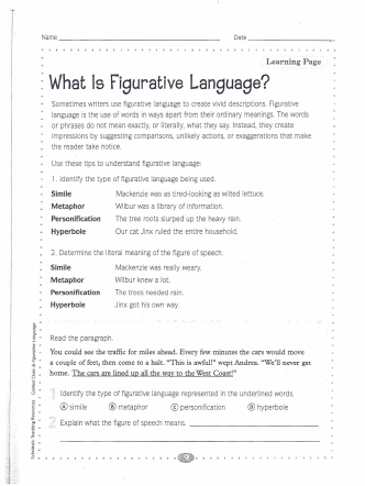 . What Is Figurative Language?