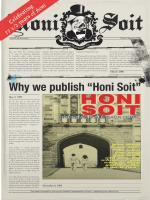 """Why we publish """"Honi Soit"""""""