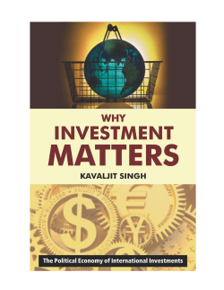 Why Investment Matters, Internet edition.p65 - The Corner House