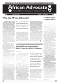 Why the African Advocate? - United African Organization