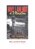 Why I am Not A Muslim - Bukti dan Saksi
