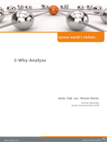 5-Why-Analyse - Innotec Systemtechnik GmbH