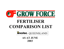 COVER SHEET QLDS - Grow Force
