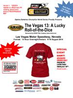 Fax Cover Sheet - ChumpCar World Series