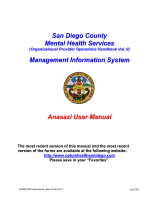 Management Information System - County of San Diego