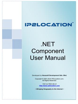 .NET Component User Manual