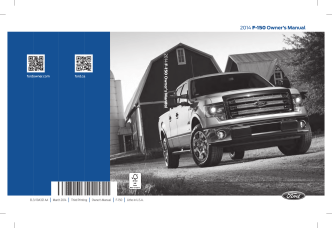 2014 F-150 Owners Manual - Owner Manuals