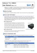 MyBeacon Pro User Manual