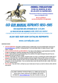 Old Gun MANUAL Reprints 1850-1985