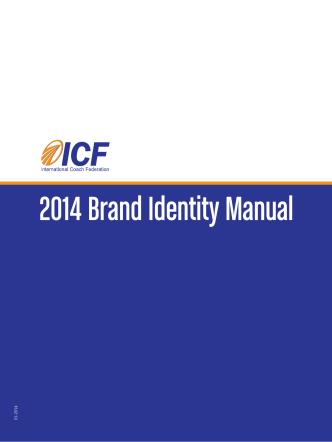 2014 Brand Identity Manual - ICF Coach Klub