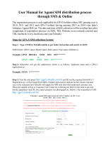 User Manual for Agami SIM distribution process through SMS  Online