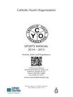 Catholic Youth Organization SPORTS MANUAL 2014 – 2015