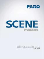 SCENE WebShare Server Installation Manual
