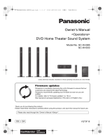 Owners Manual DVD Home Theater Sound System - Middle East