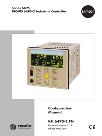 Configuration Manual KH 6495-2 EN