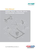 Parts Manual NEWAY TRUCK, TRACTOR, BUS  MOTORHOME
