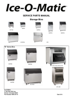 SERVICE PARTS MANUAL Storage Bins - Ice-O-Matic